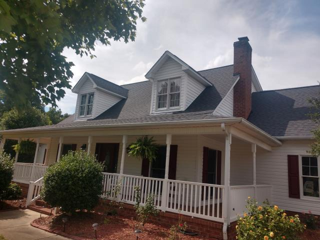 Kannapolis, NC - Shingle roof replacement complete.