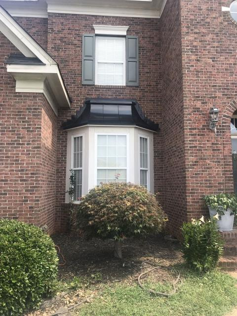 Statesville, NC - Metal roof of a bay window replaced.