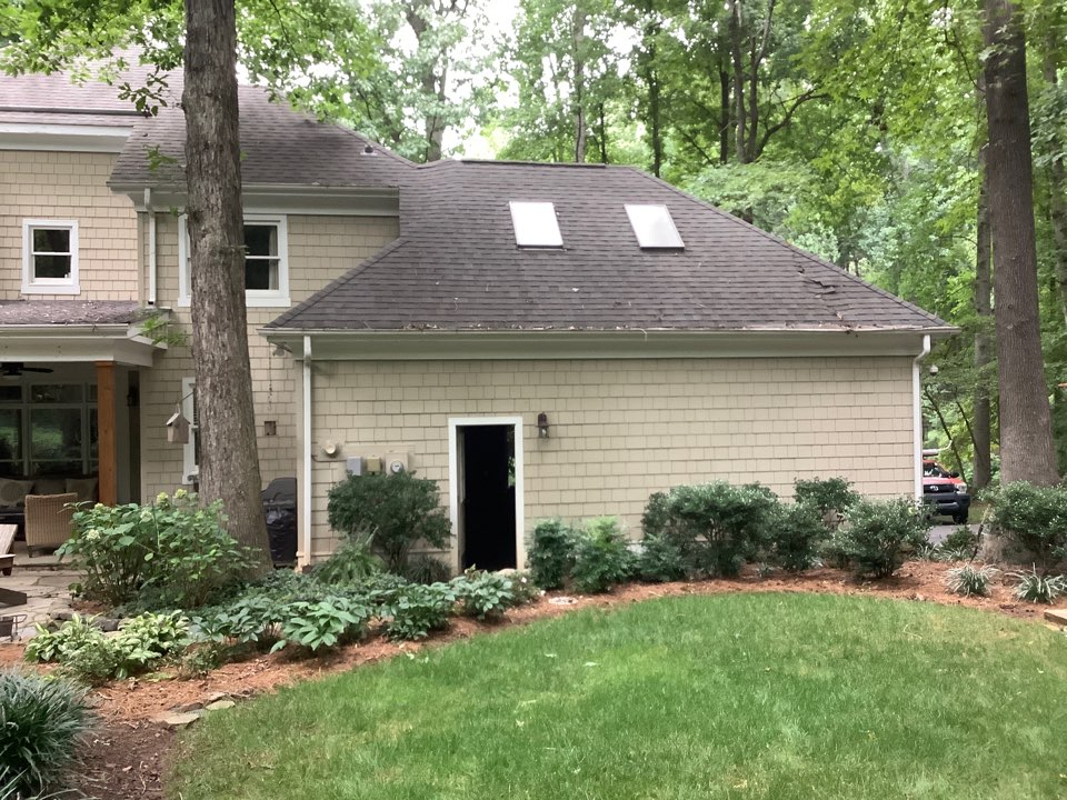 Davidson, NC - Insurance company asked us to help scope and price out repairs at Mr. Richardson's property due to a fallen tree. It's a great feeling knowing the insurance company needs your help as much as the homeowners do.