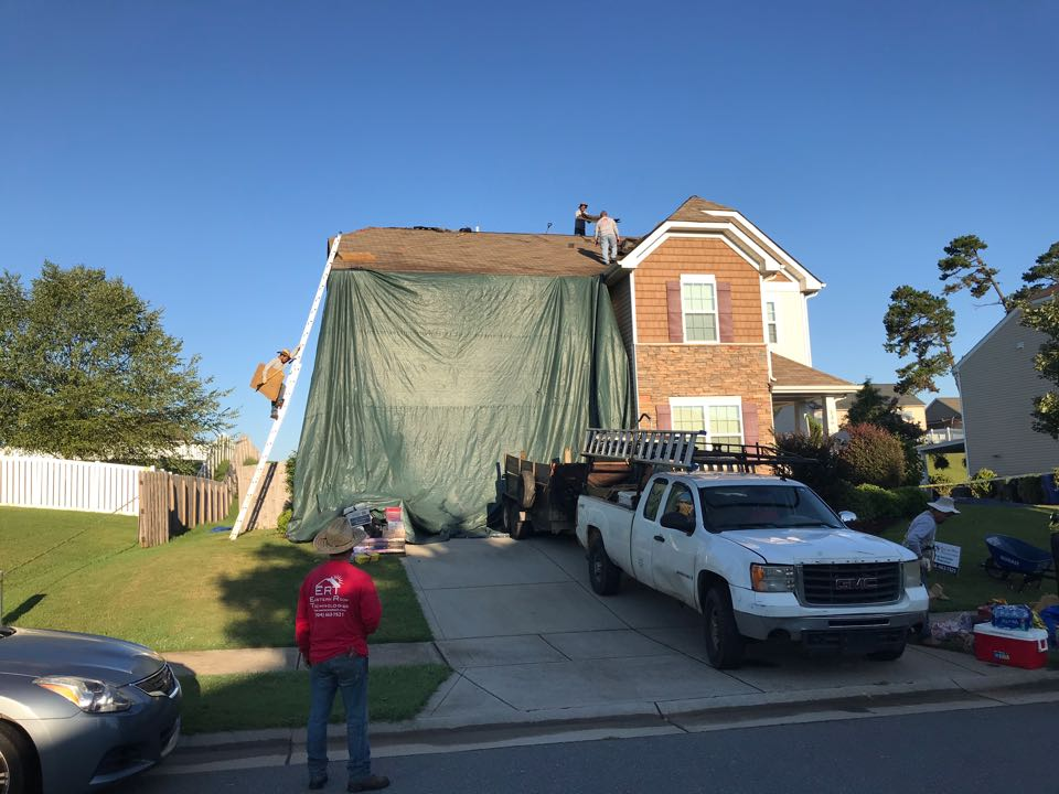 Mooresville, NC - Starting our Thursday off with a 23SQ roof replacement.  Come see us in action.