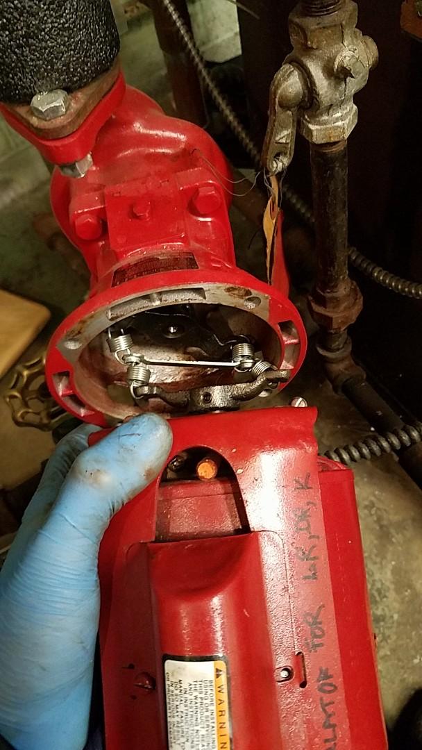 Briarcliff Manor, NY - Replacing circulator coupler