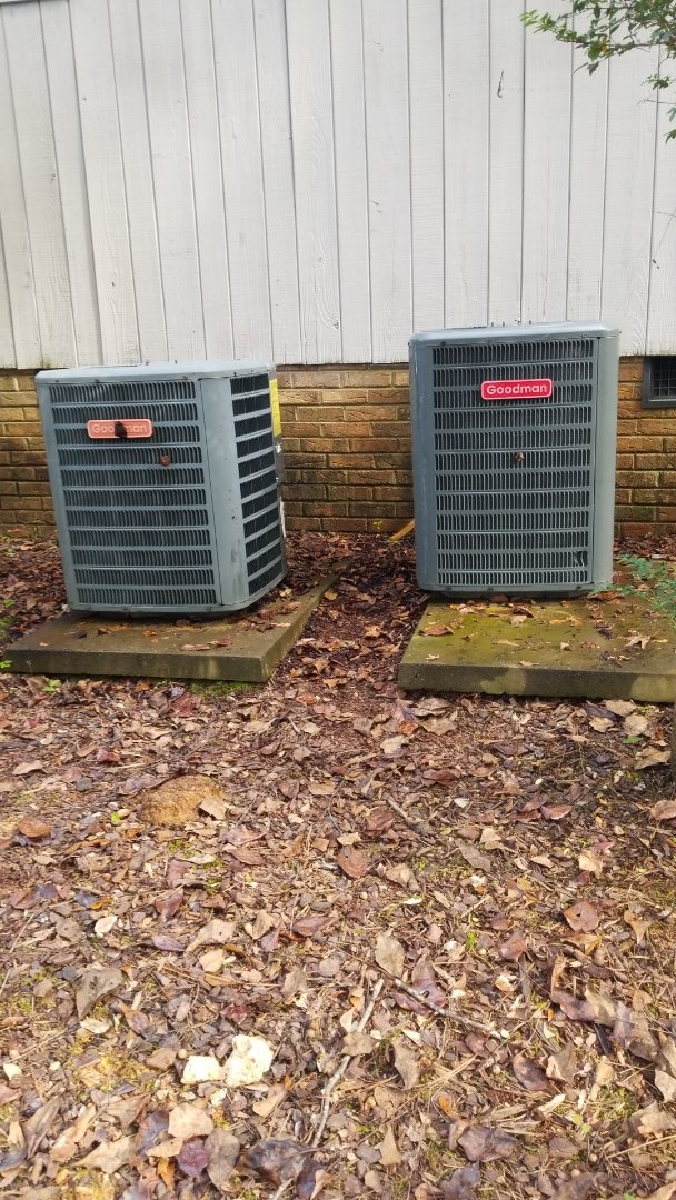 Ridgeway, SC - Maintenance on split unit and gas log