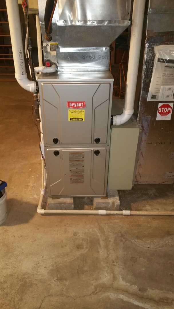 Roanoke, IN - Fall tune up on Bryant natural gas furnace.