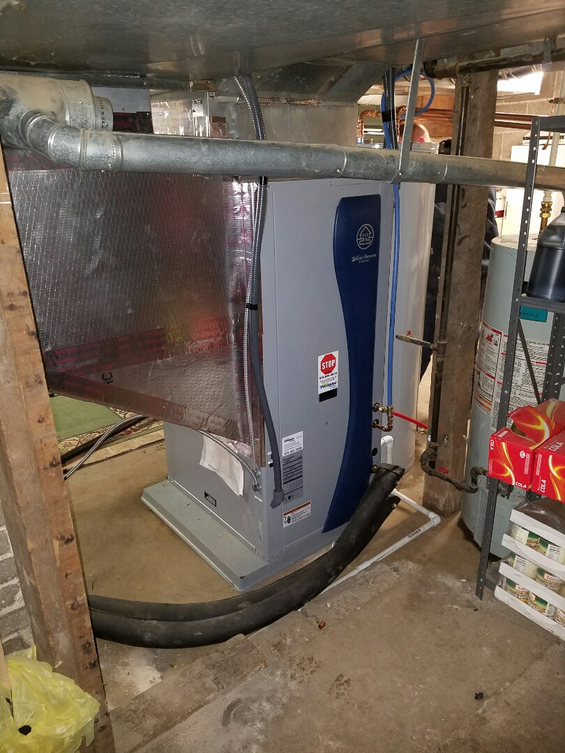 Walkerton, IN - Install waterfurnace geothermal closed earth loop