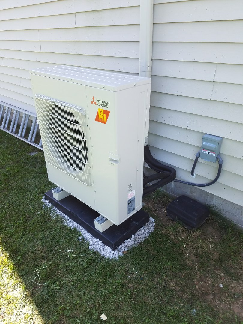Wabash, IN - Install Mitsubishi ductless system