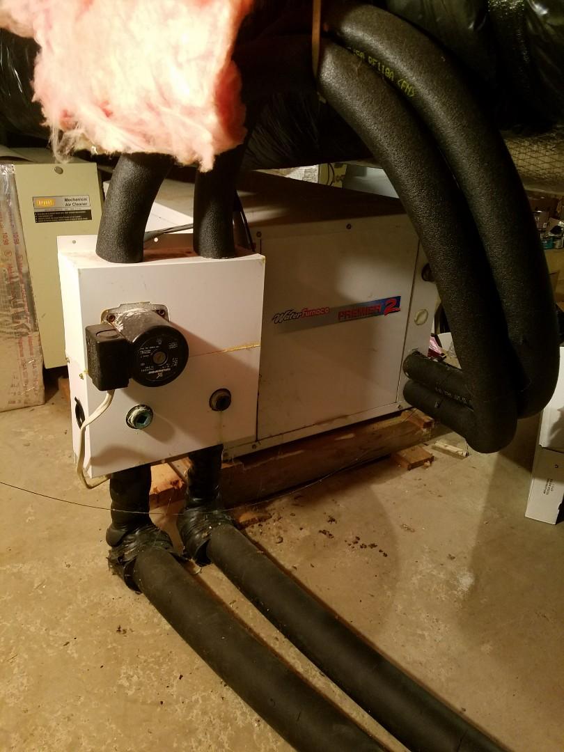 Roanoke, IN - Annual maintenance on Waterfurnace closed loop geothermal.