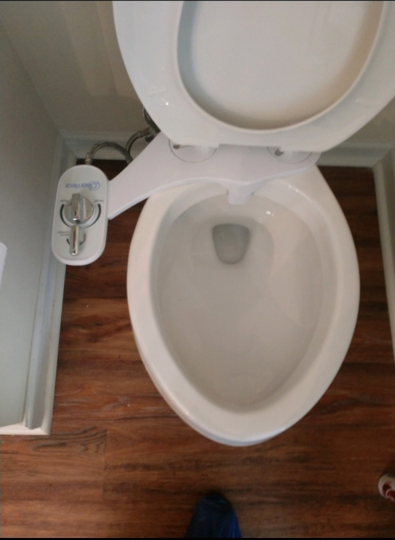 Holly Springs, NC - Plumber in Holly Springs installed a bidet for new homeowners. Now they can save money on toilet paper and be extra clean!