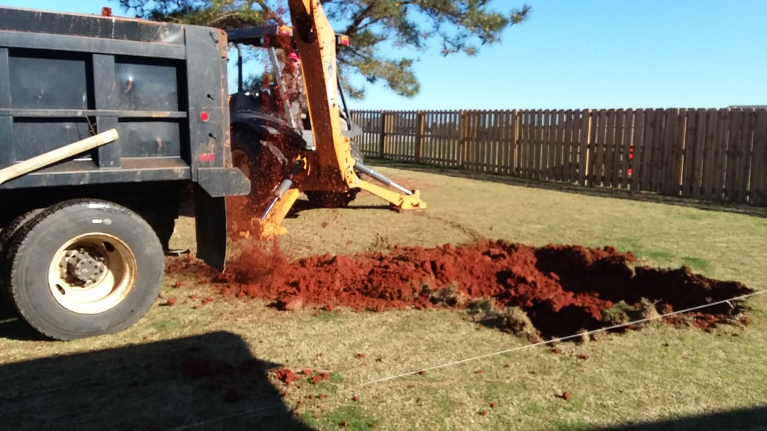 Wetumpka, AL - New swimming pool construction, installation.