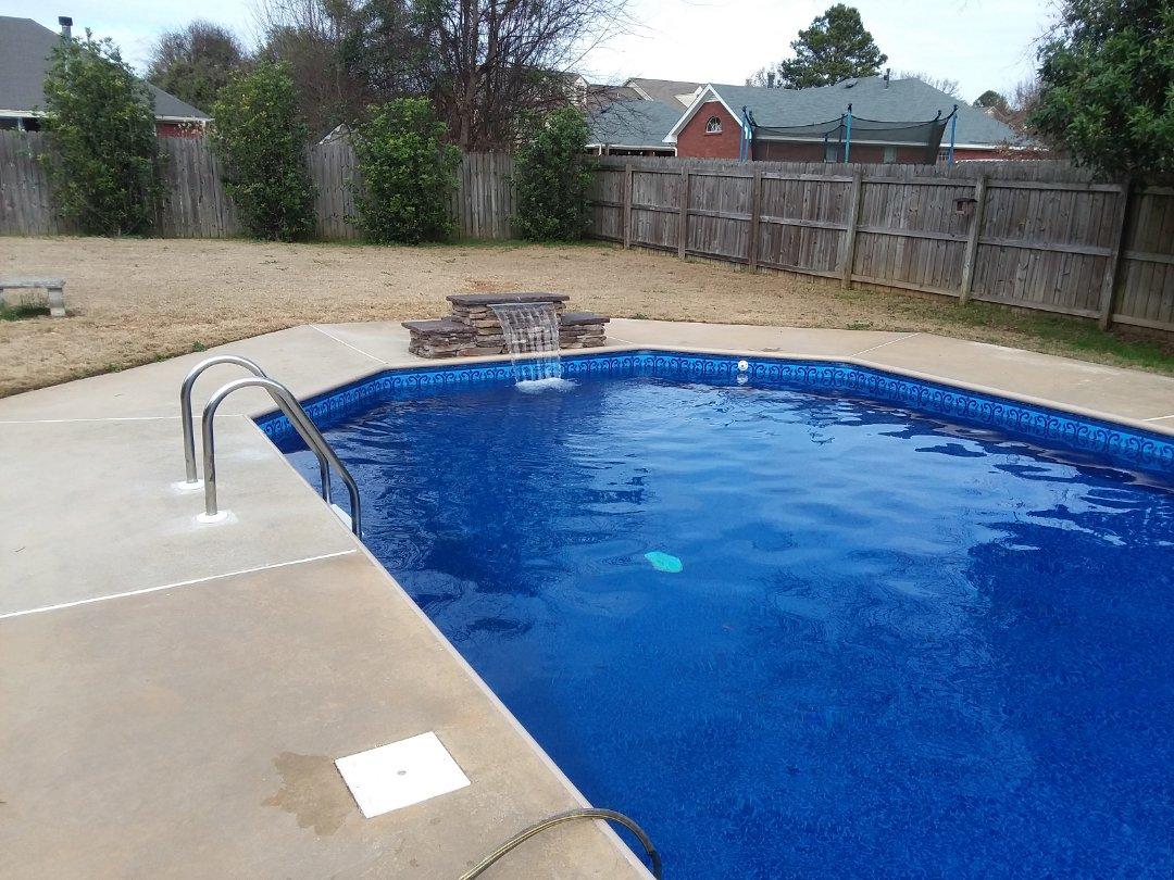 New swimming pool construction, installation.