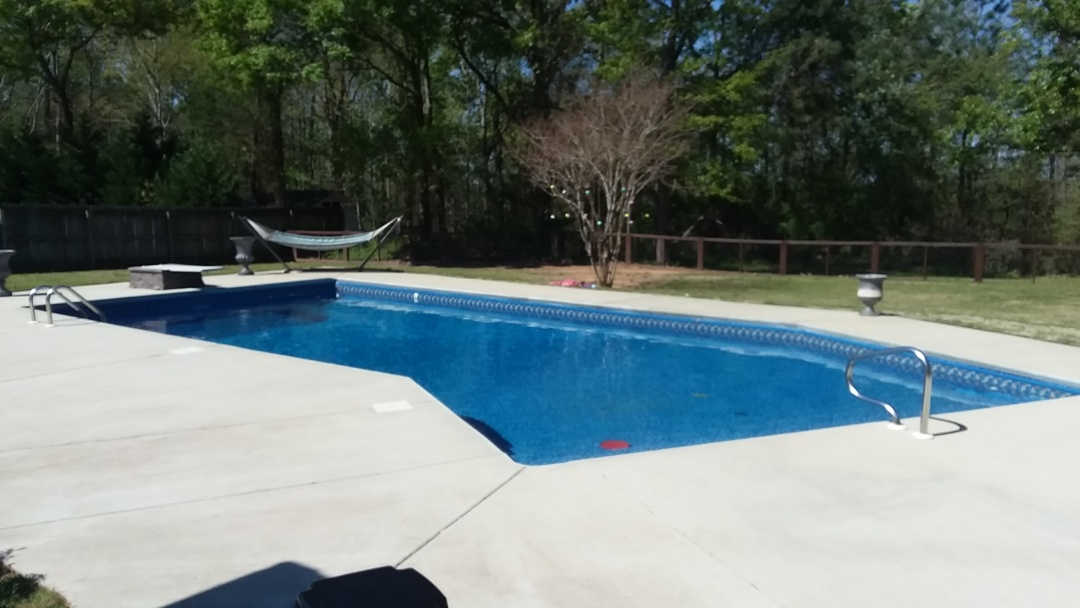 Wetumpka, AL - New swimming pool construction and liner replacements.