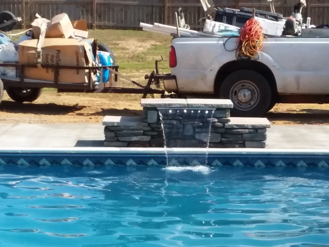 Tallassee, AL - New swimming pool construction and liner replacements.