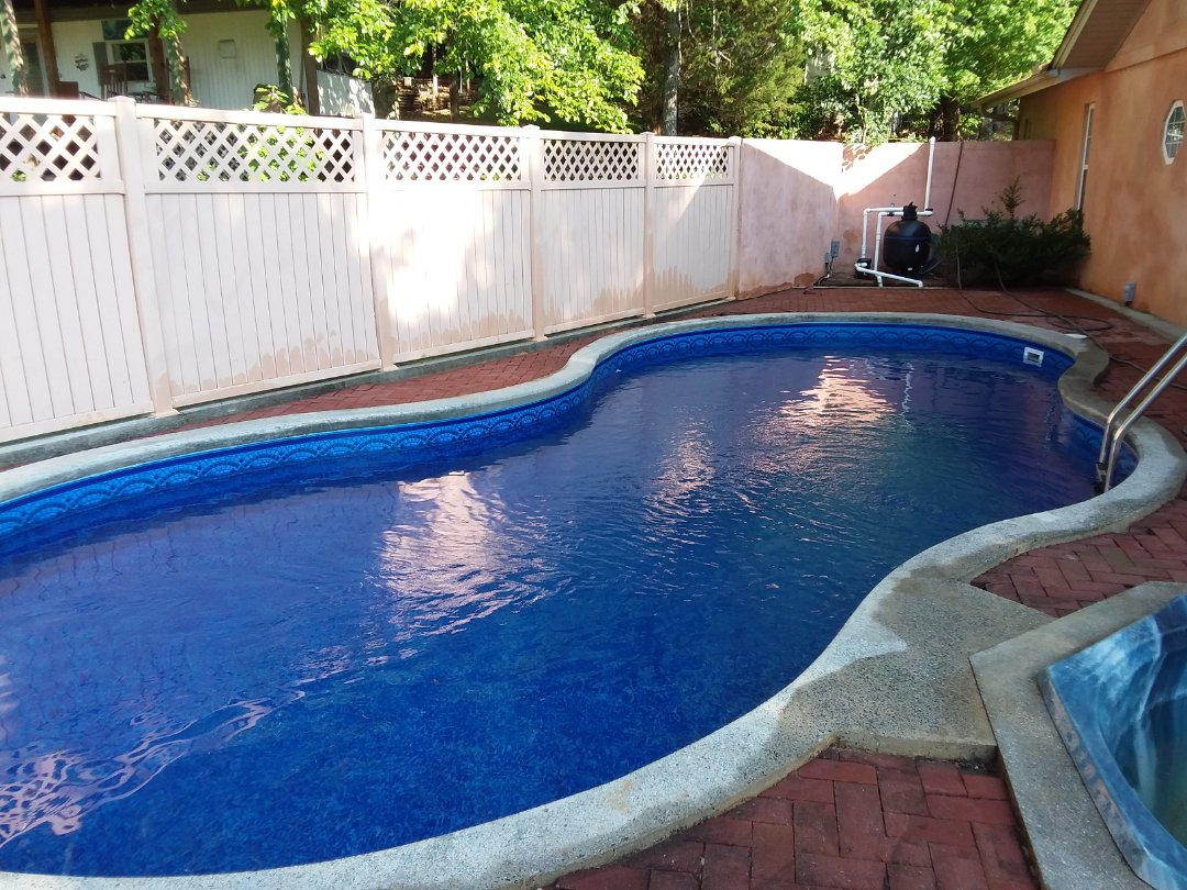Clanton, AL - New swimming pool construction and liner replacements.