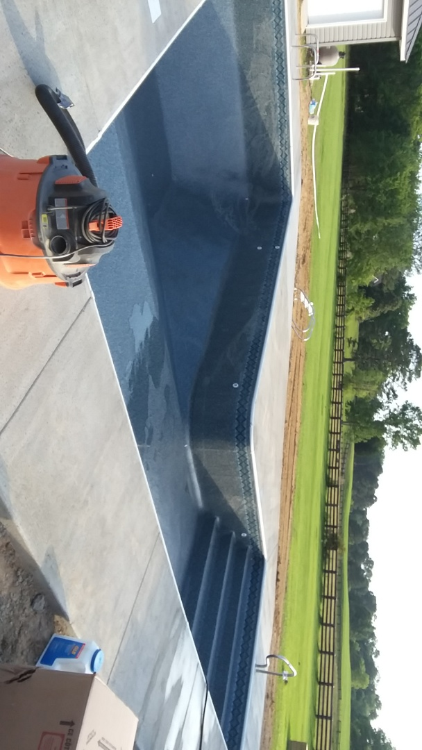 New swimming pool construction and liner replacements.