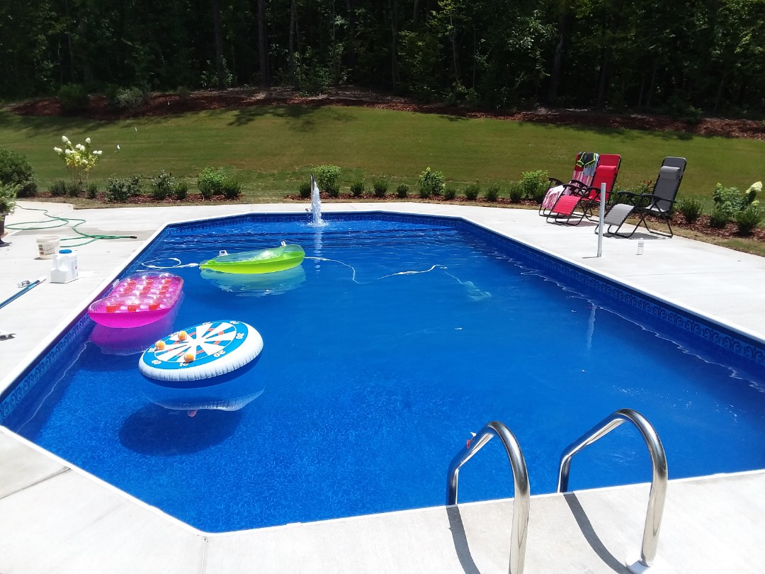 Prattville, AL - New swimming pool construction and liner replacements.