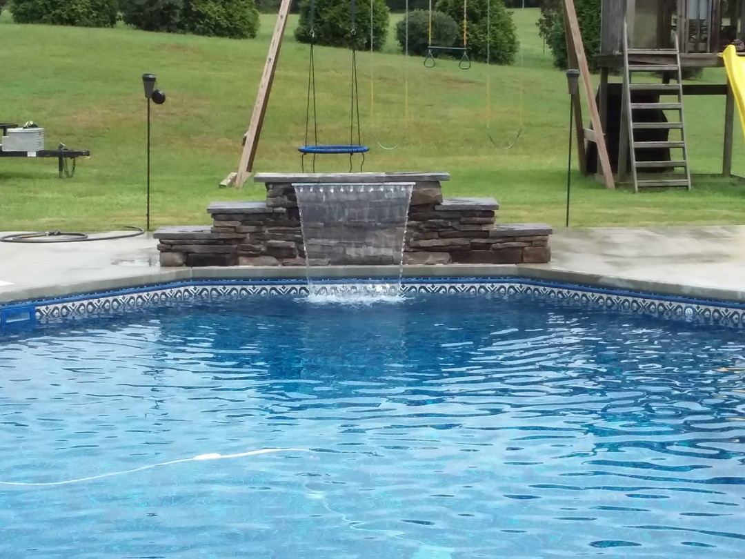 Montgomery, AL - New swimming pool construction.