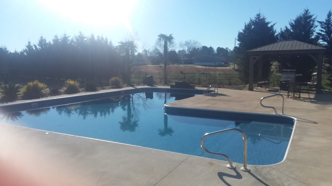 Swimming pool dealer, new construction and liner replacements.