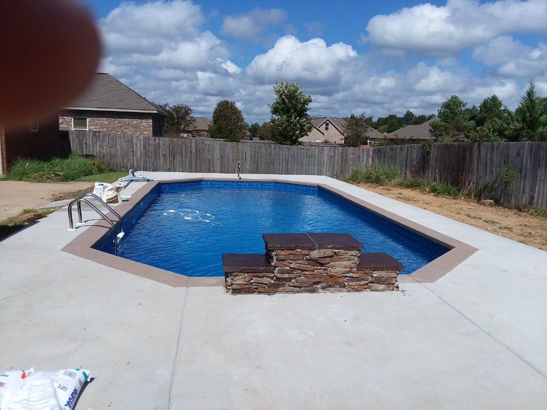 Swimming pool dealer and new swimming pool construction.