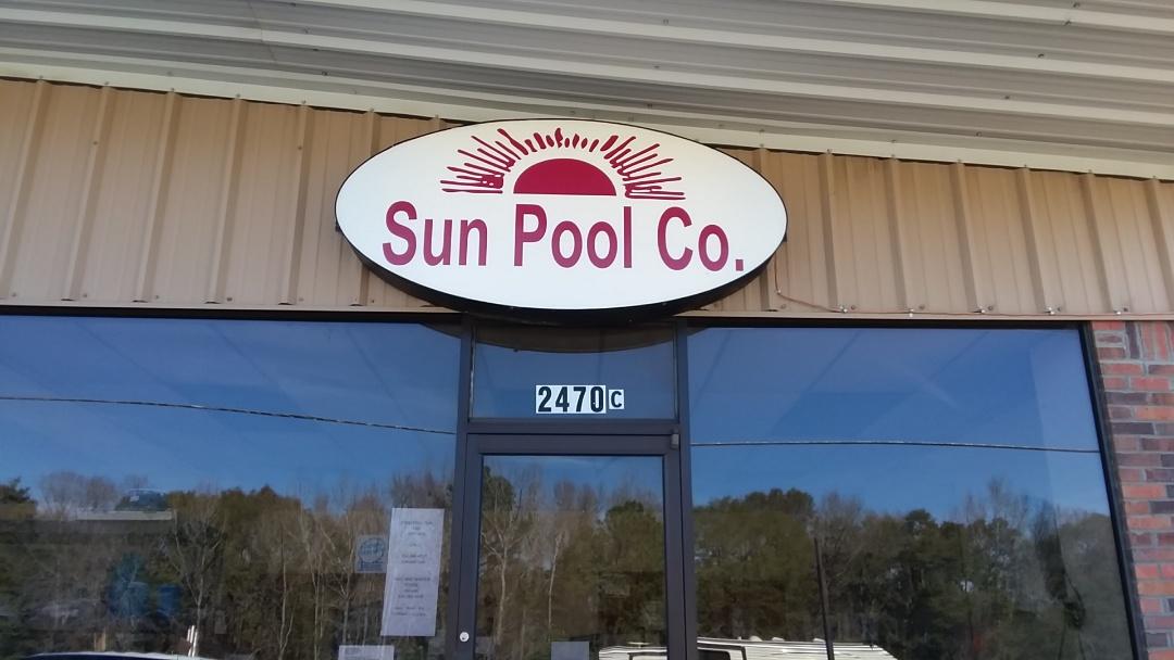 Swimming pool dealer.