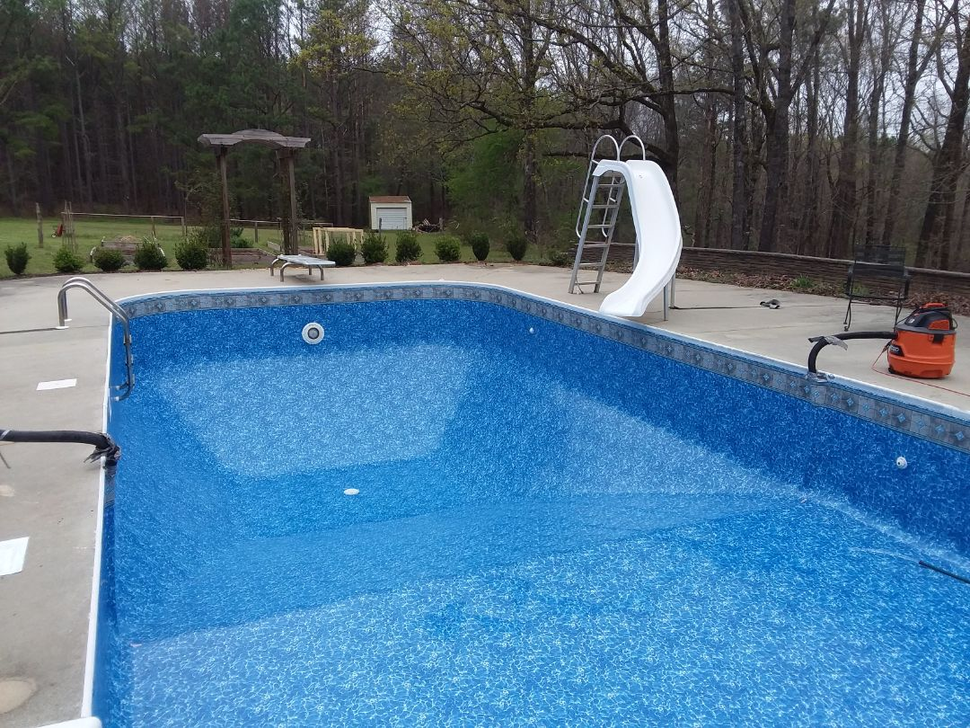 Tallassee, AL - New swimming pool dealer and new liner replacements.