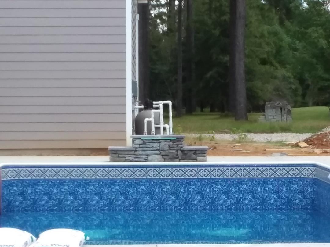 Prattville, AL - Swimming pool pump and filter repair.