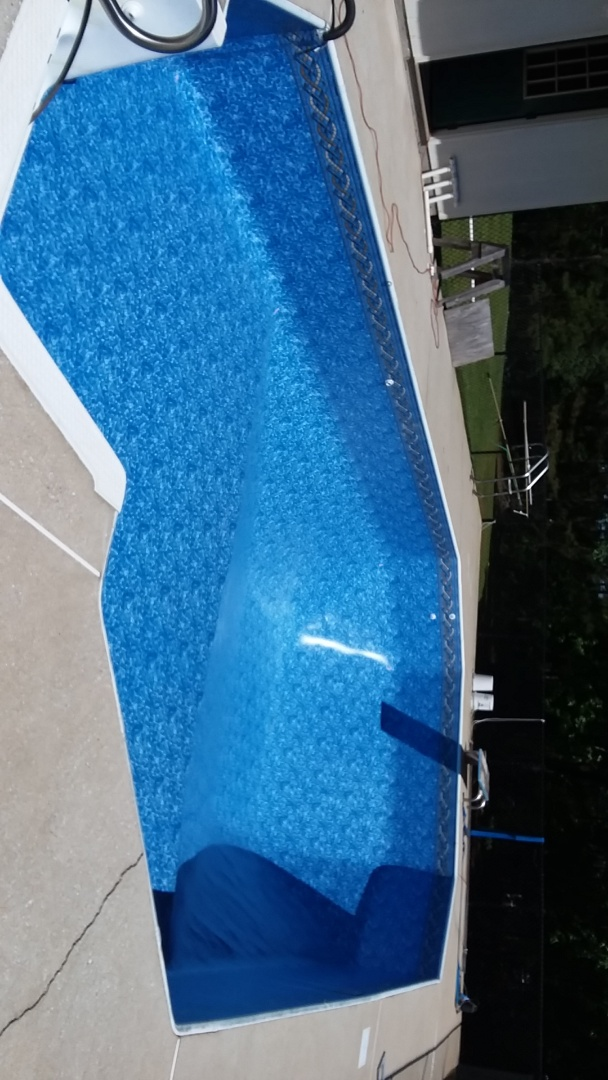 New swimming pool dealer and vinyl liner replacements.