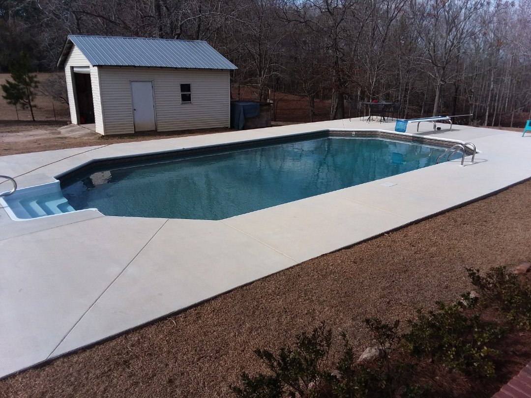 New pool Installation.