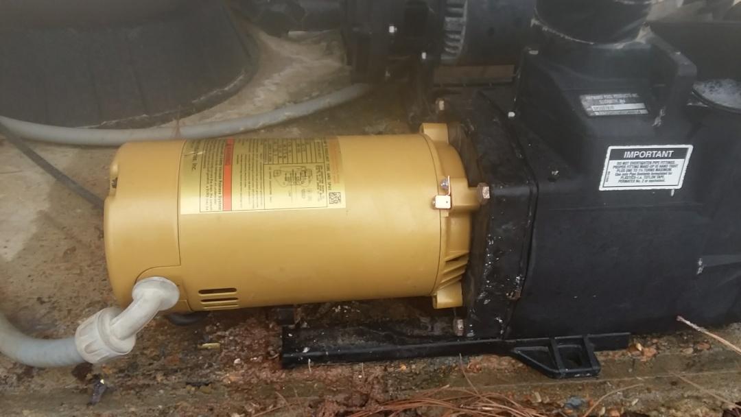 Hayward pool pump motor replacement.