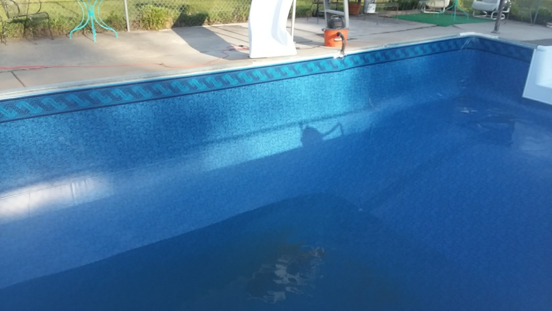 Wetumpka, AL - 16x32 pool liner replacement.