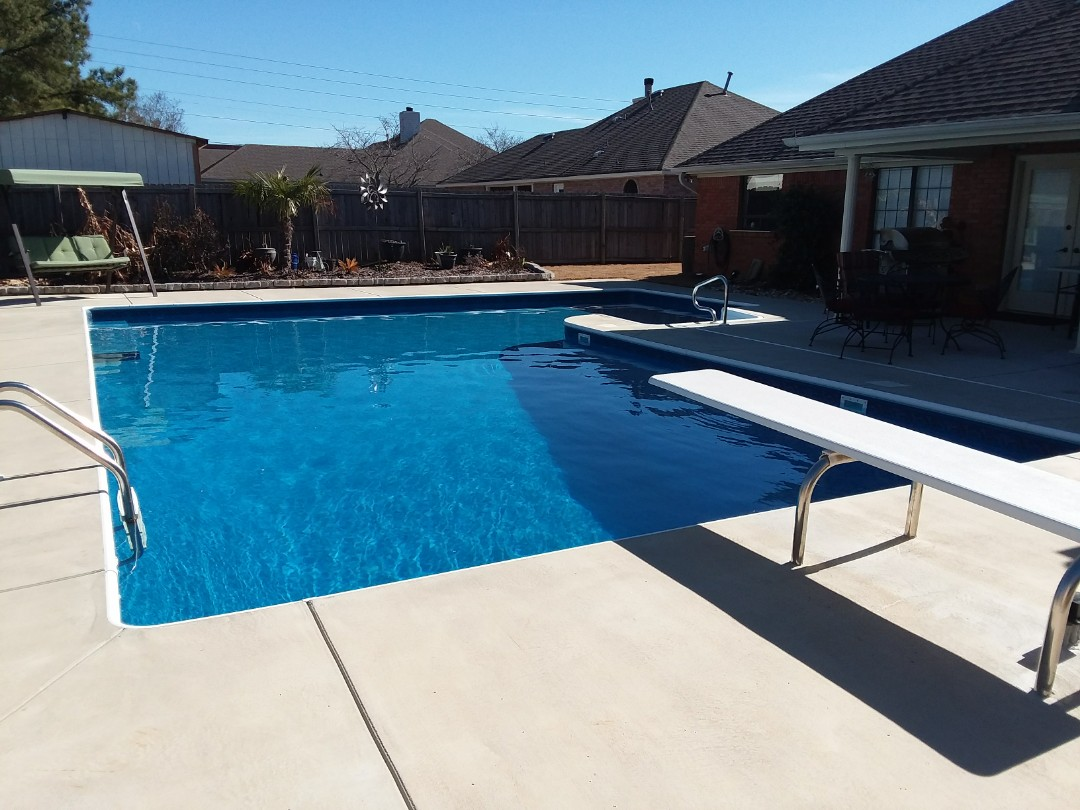 New pool installation and New liner replacement.