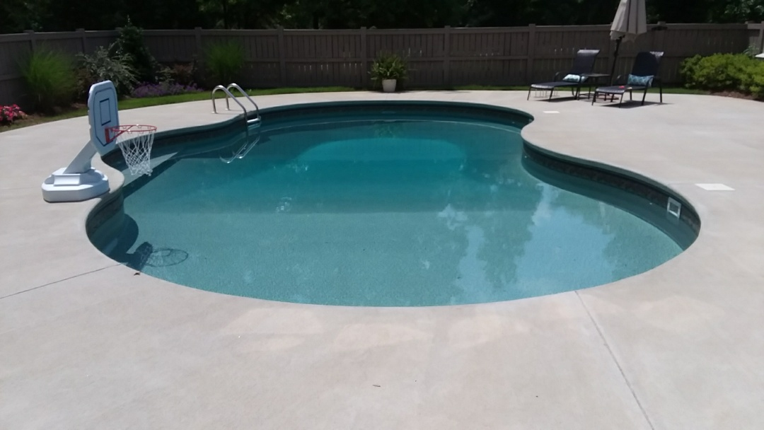 New 18x36 oasis pool installation.