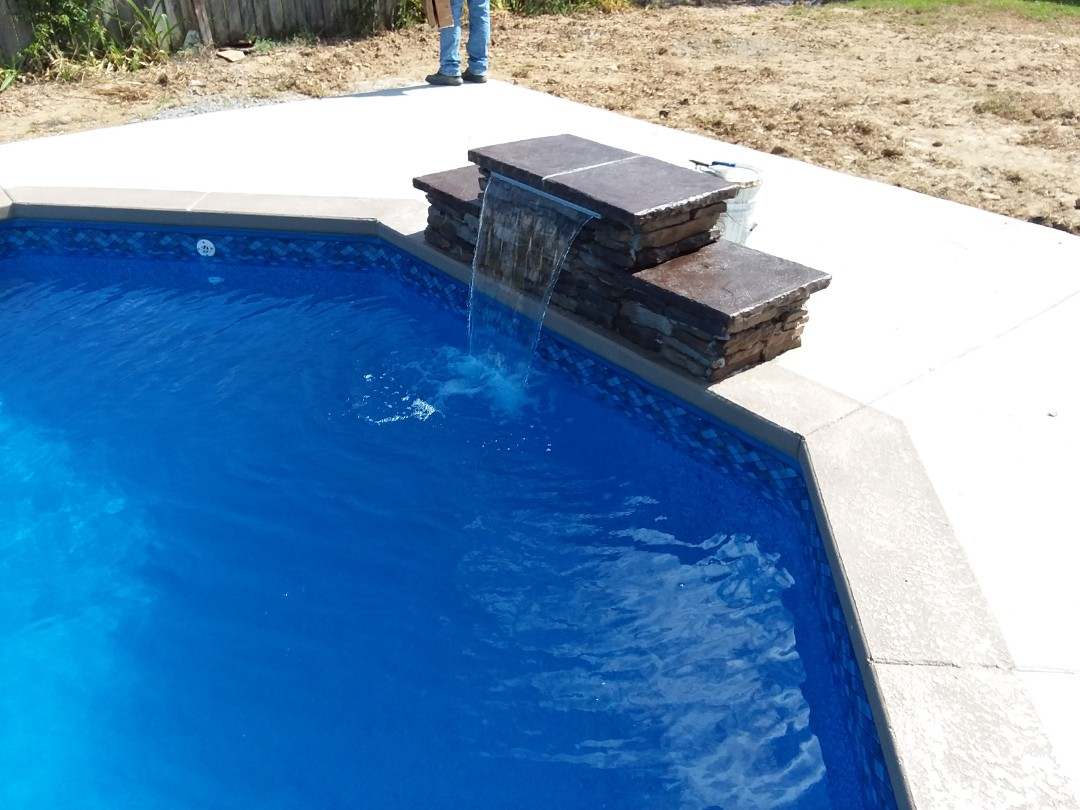 Montgomery, AL - New swimming pool construction, installation and liner replacement.