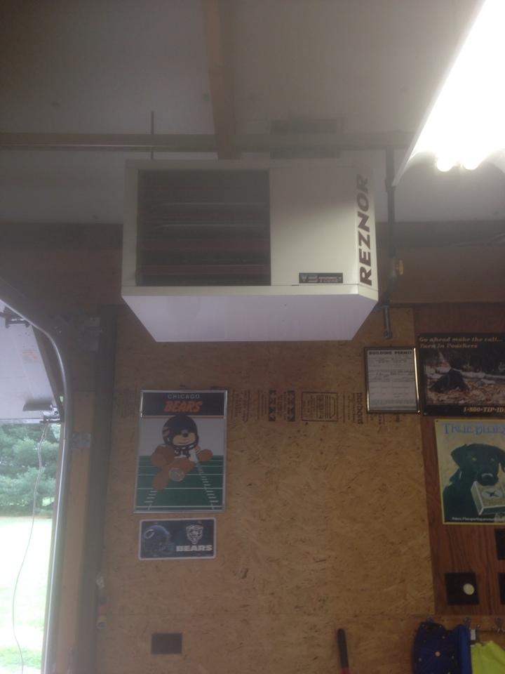 Granger, IN - New unit heater