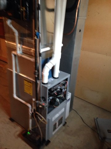 Milford, IN - Maintenance on Ducane furnace. Checked heat exchanger along with safeties and filter change