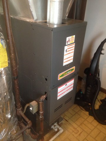 Nappanee, IN - Return with parts to repair a goodman furnace that wasn't working properly