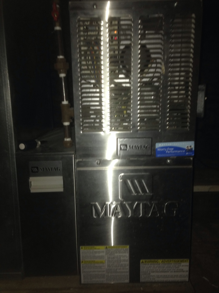 Constantine, MI - Furnace service maytag