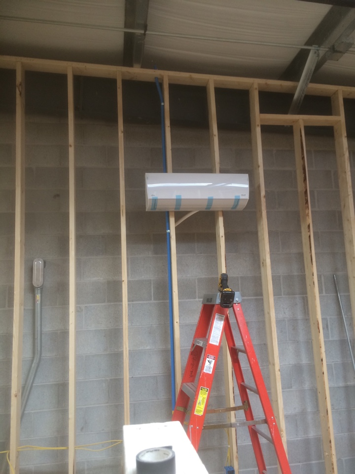 Syracuse, IN - Installing ductless mini splits