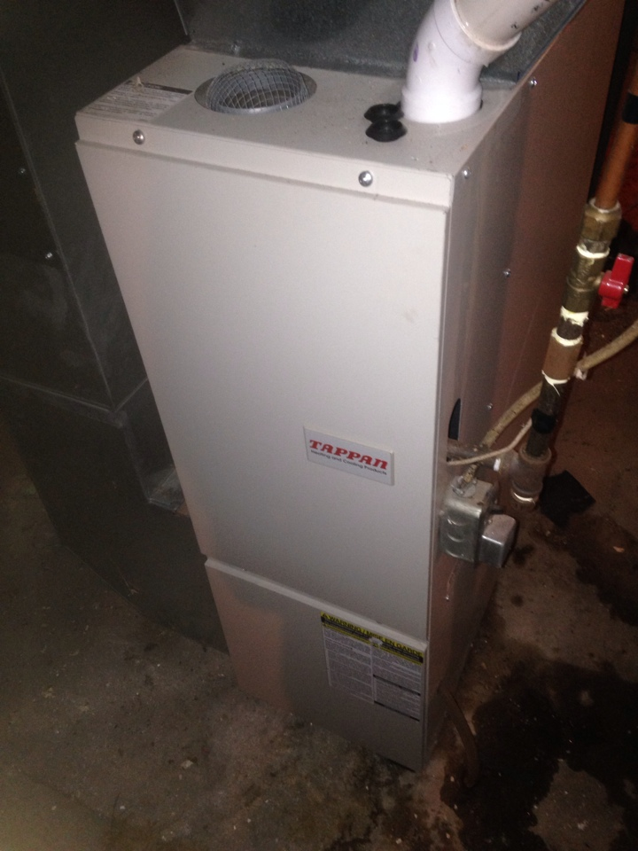 Constantine, MI - Customer called in due to smelling smoke. Checked furnace and the quality of the air