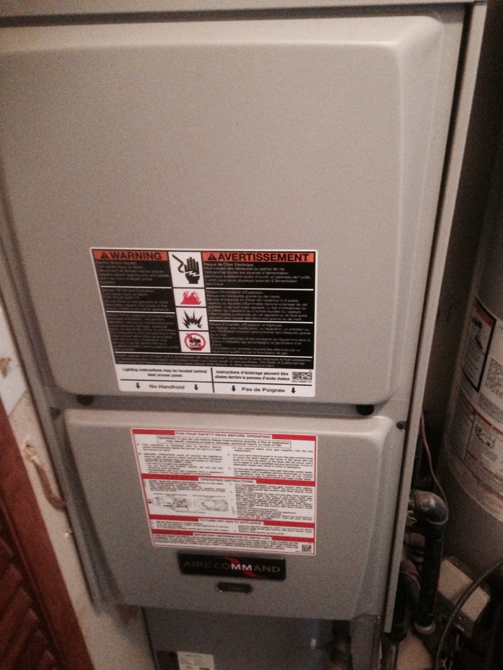Nappanee, IN - Service call on a Ducane furnace.