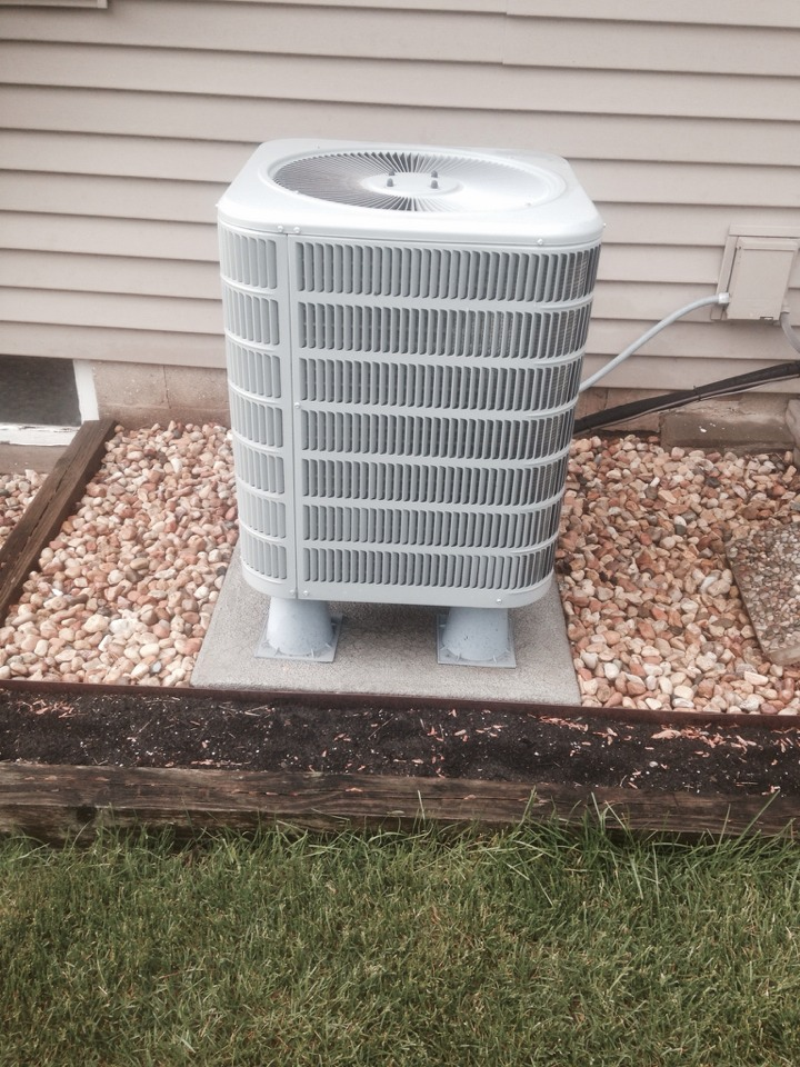 Granger, IN - Performed air conditioner check on a Ducane unit
