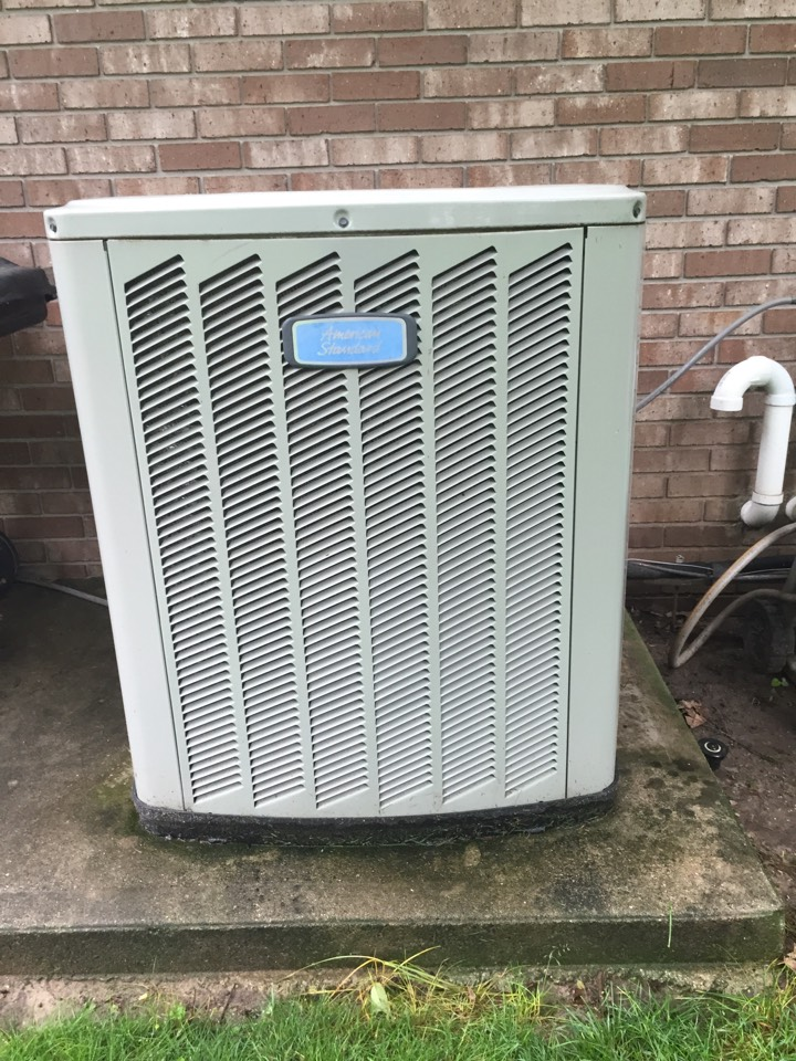 New Paris, IN - Check up on an American standard air conditioner