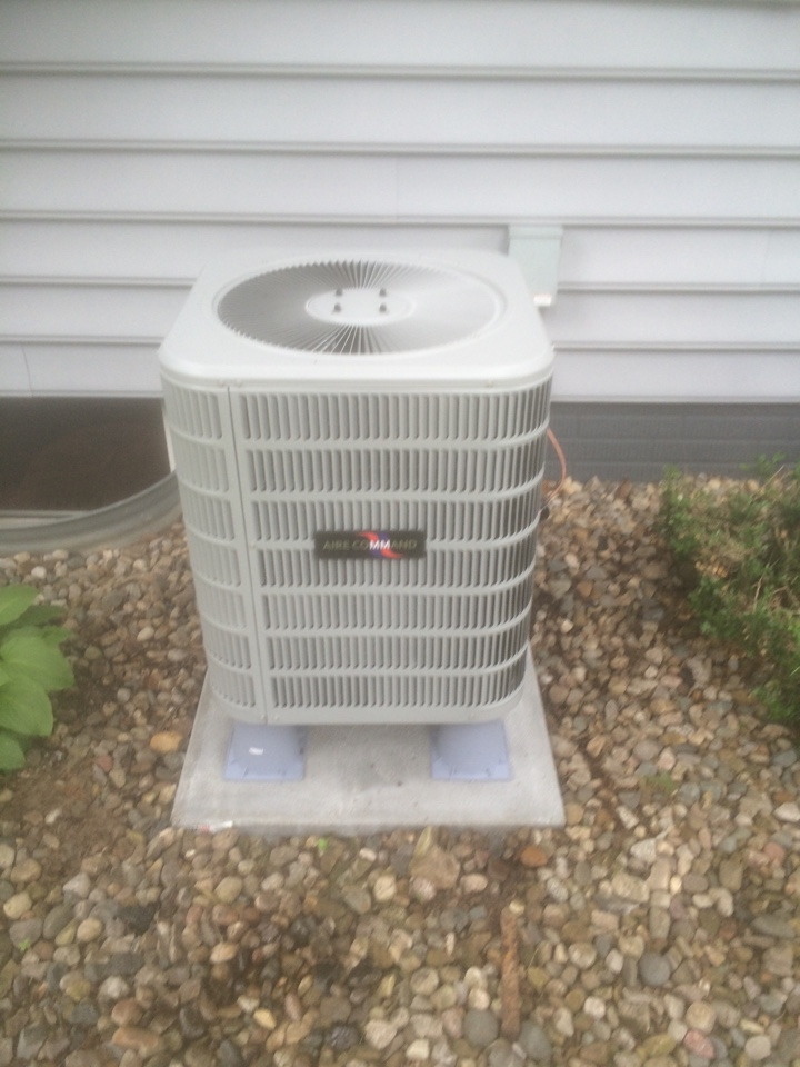 Howe, IN - New furnace and ac