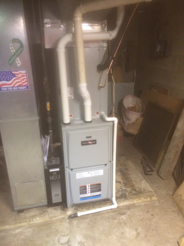 New Paris, IN - Furnace and air conditioner