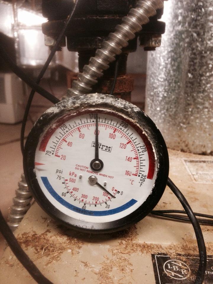 Ligonier, IN - Boiler service call