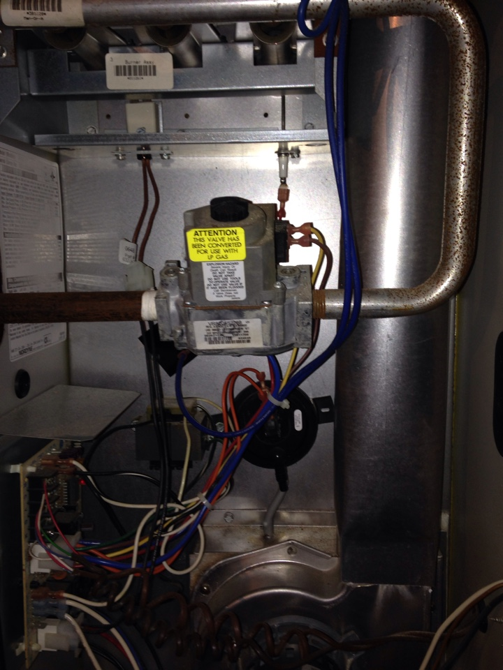 Constantine, MI - Furnace tune up on Tappan system in Michigan check for safe operatiom