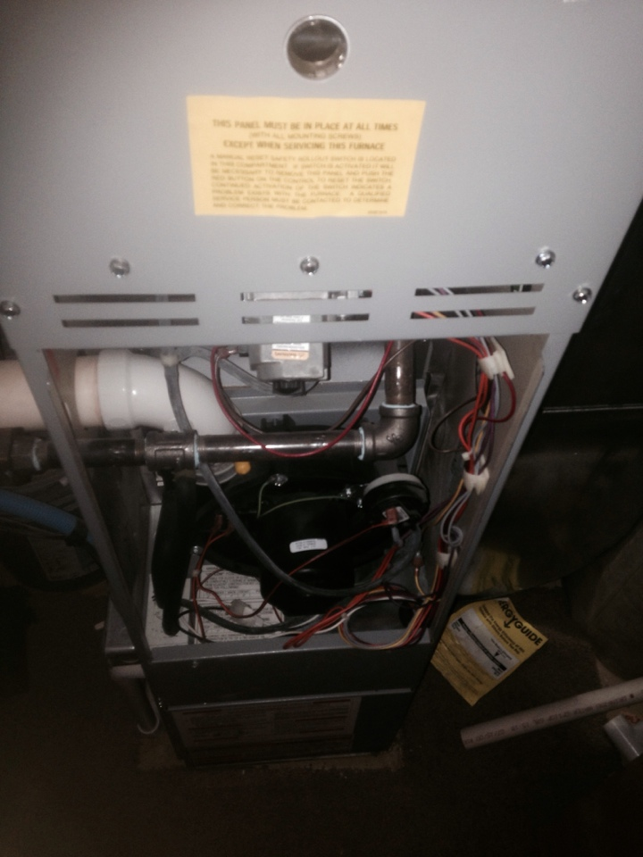 Millersburg, IN - Furnace check on a Ducane