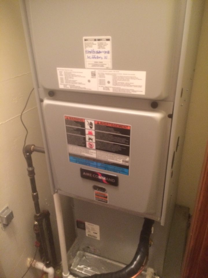 Millersburg, IN - New furnace and ac