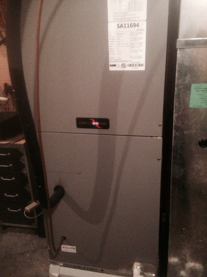 Vandalia, MI - Furnace check on a Ducane