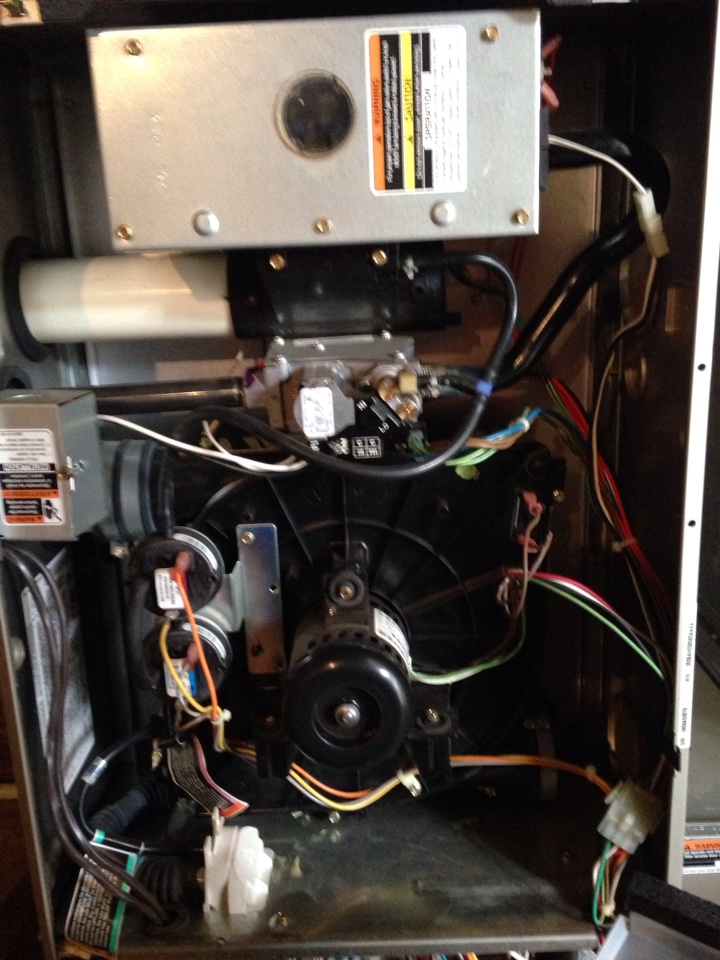 Bristol, IN - Furnace tune up on Bryant system. Check for safe and effective operation