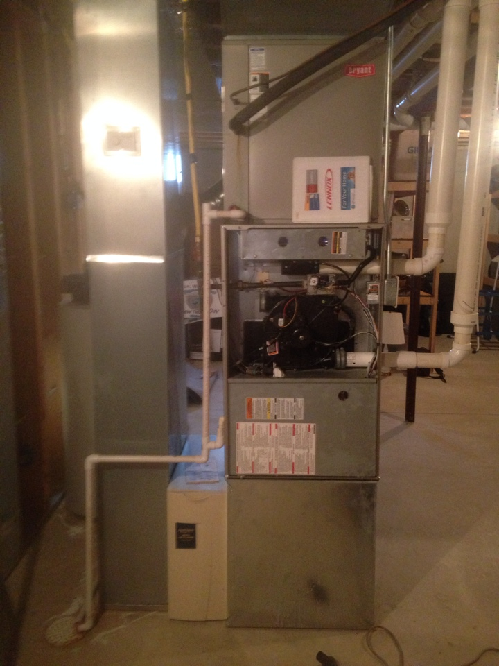 Bristol, IN - Furnace check on a Bryant