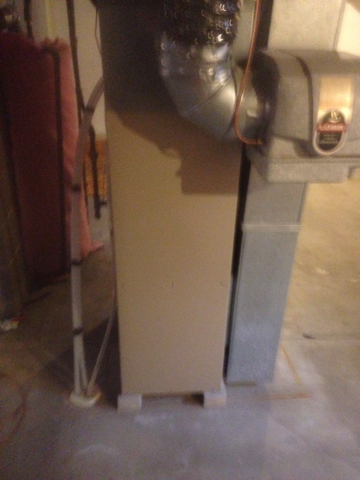 Sturgis, MI - Furnace check on a Lennox